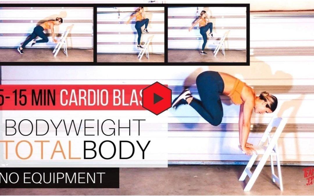TOTAL BODY Cardio Blast- Burn Fat efficiently