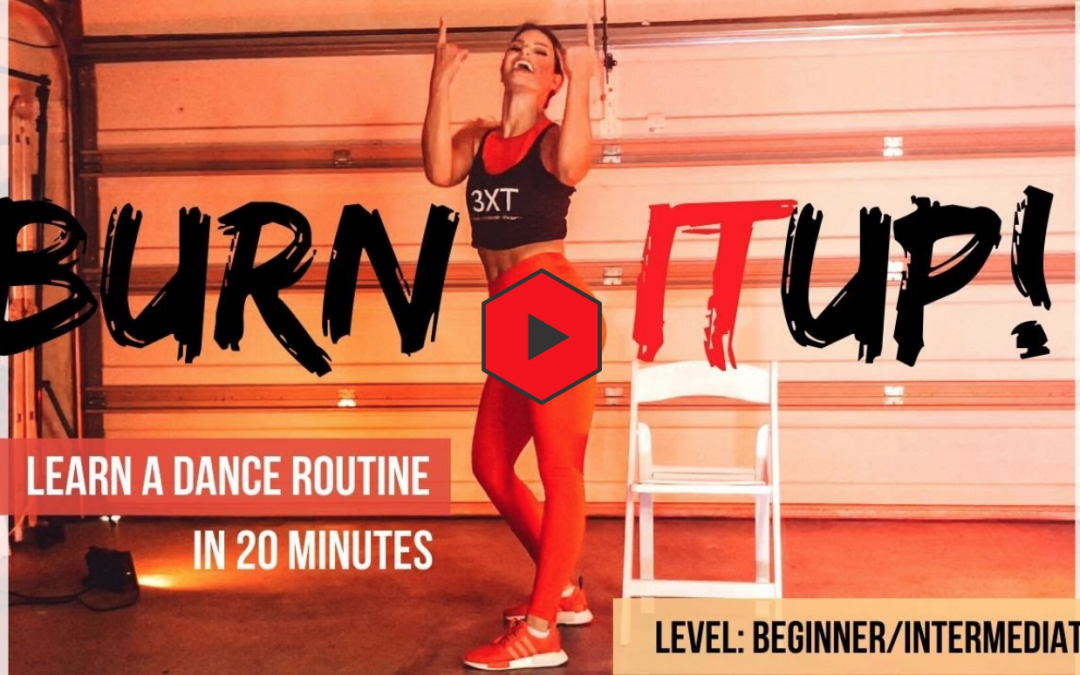 "Dance for beginners: ""Burn it up"" Janet Jackson 20 min at home workout"