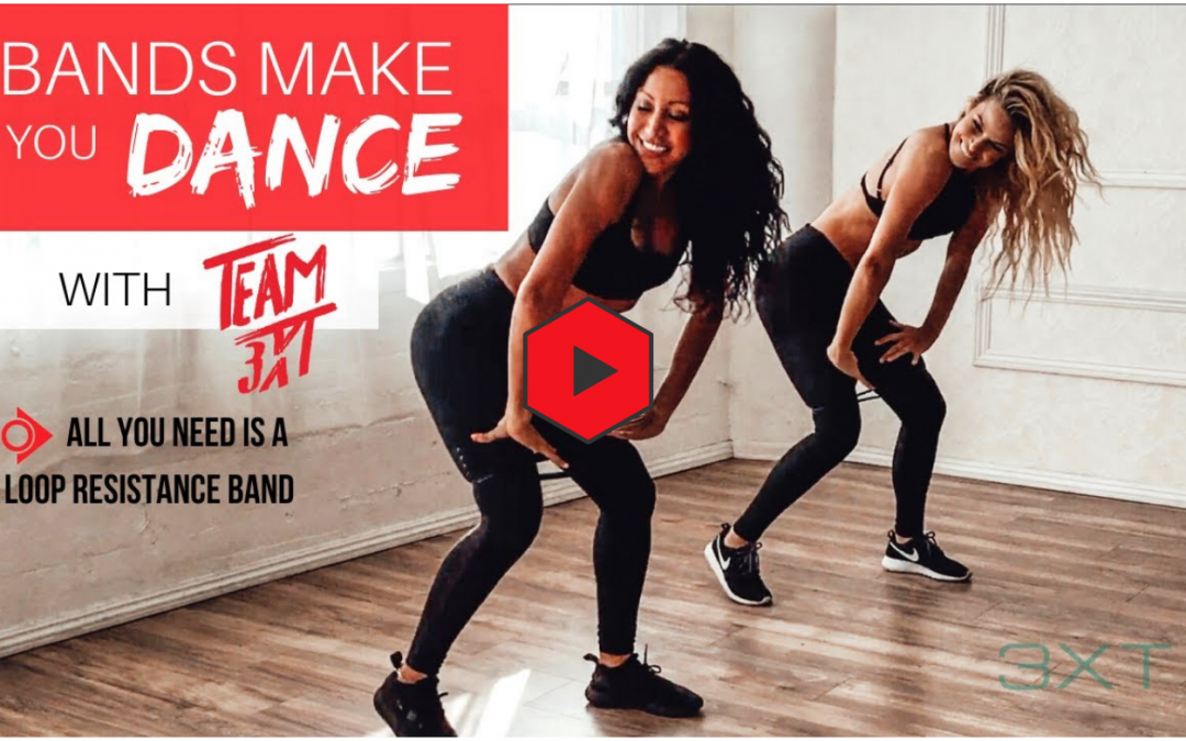 "Bands Make You Dance: Resistance Training + ""Get Busy"" routine by Sean Paul"