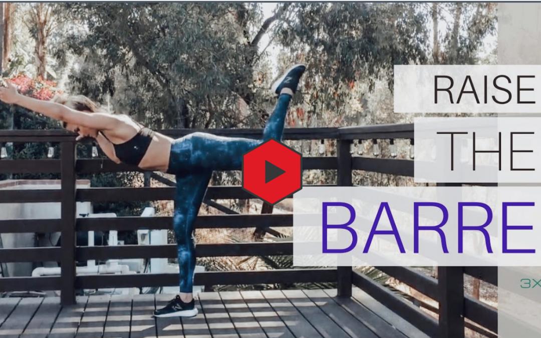 25 Min Raise the Barre Workout: Lift, Sculpt, Lengthen beautiful dancer legs