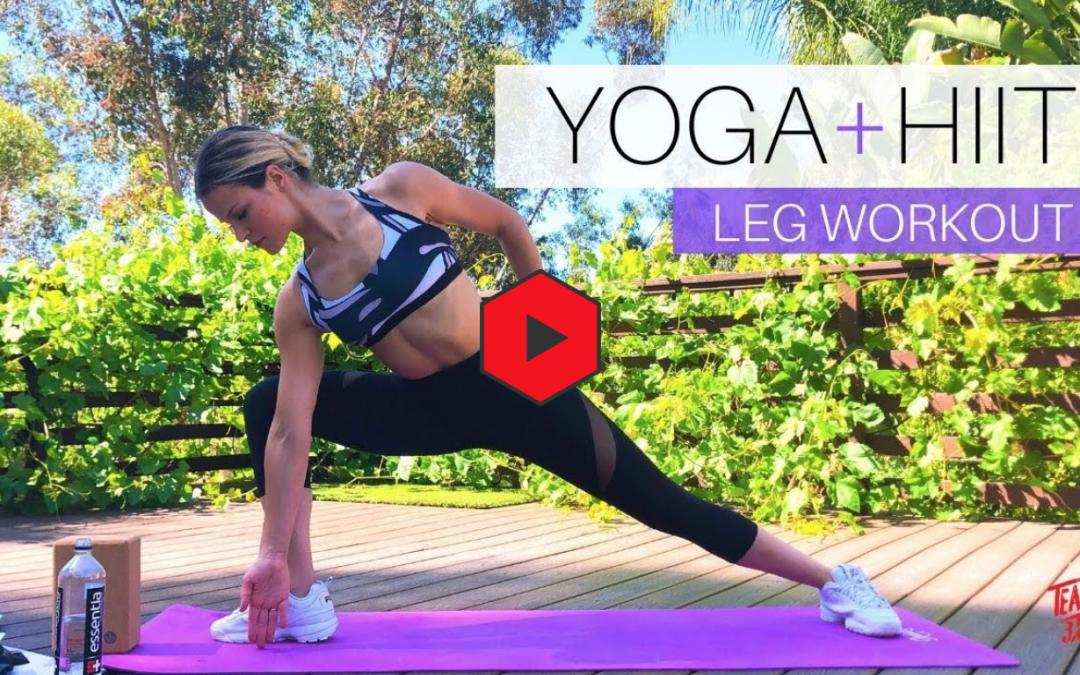 Yoga + HIIT workouts| No equipment needed