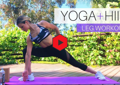 Yoga + HIIT workouts| No equipment needed
