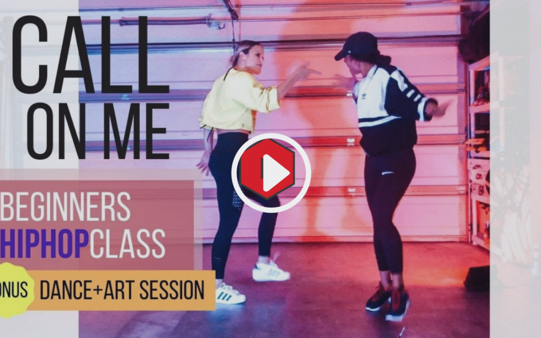 """Call on me"" dance meets art workout"