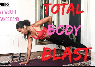 Total body blast workout with weights|20 Min