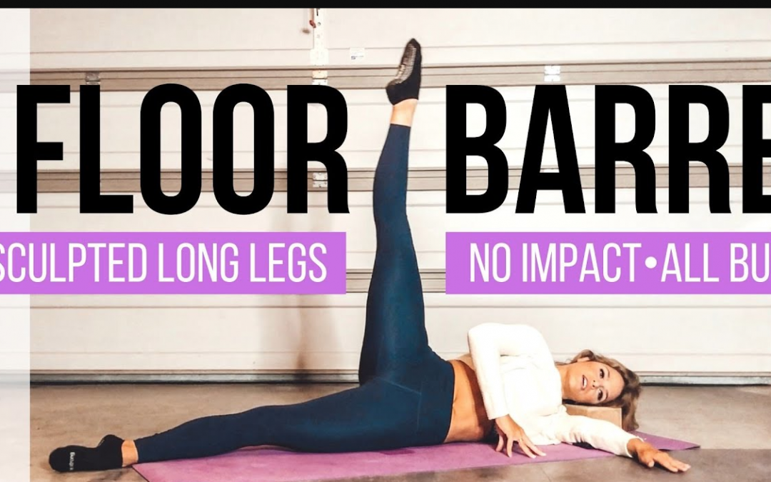 Floor barre workout|home workout