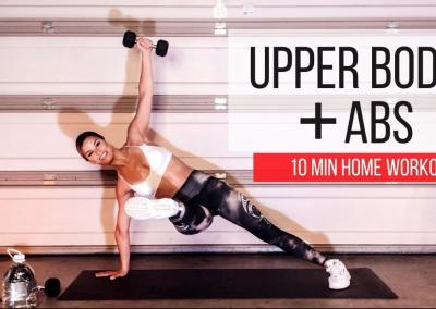 Upper Body + Abs|10 min workout