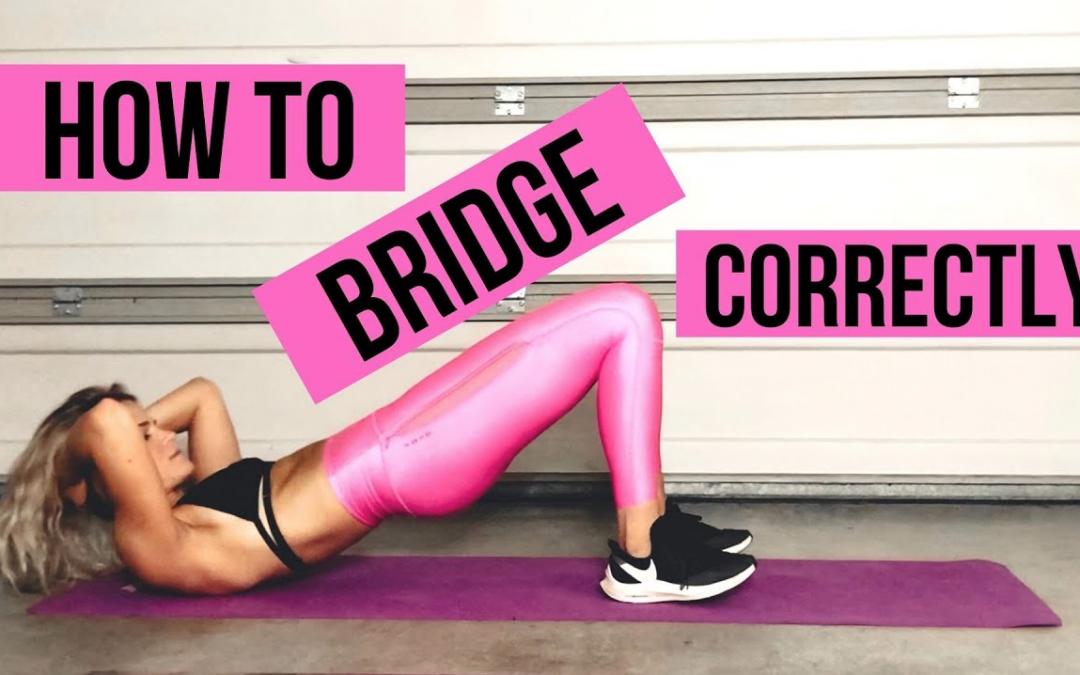 How to bridge correctly