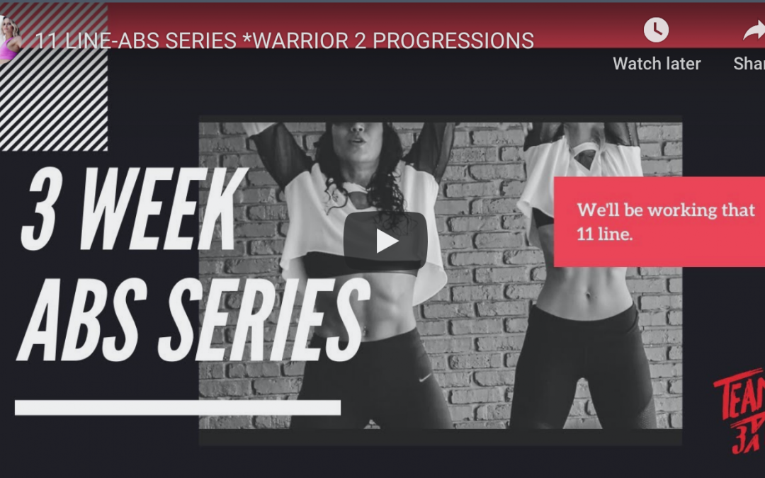 ABS Workout|Progress Your Warrior 3 Pose