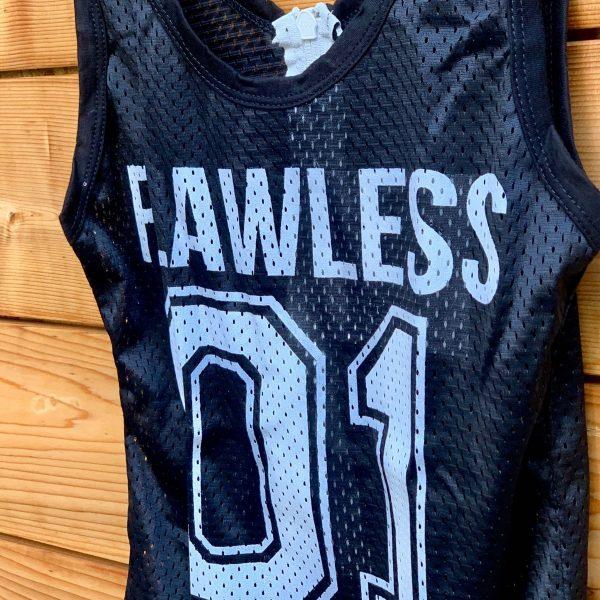 ferly wearing flawless bodysuit
