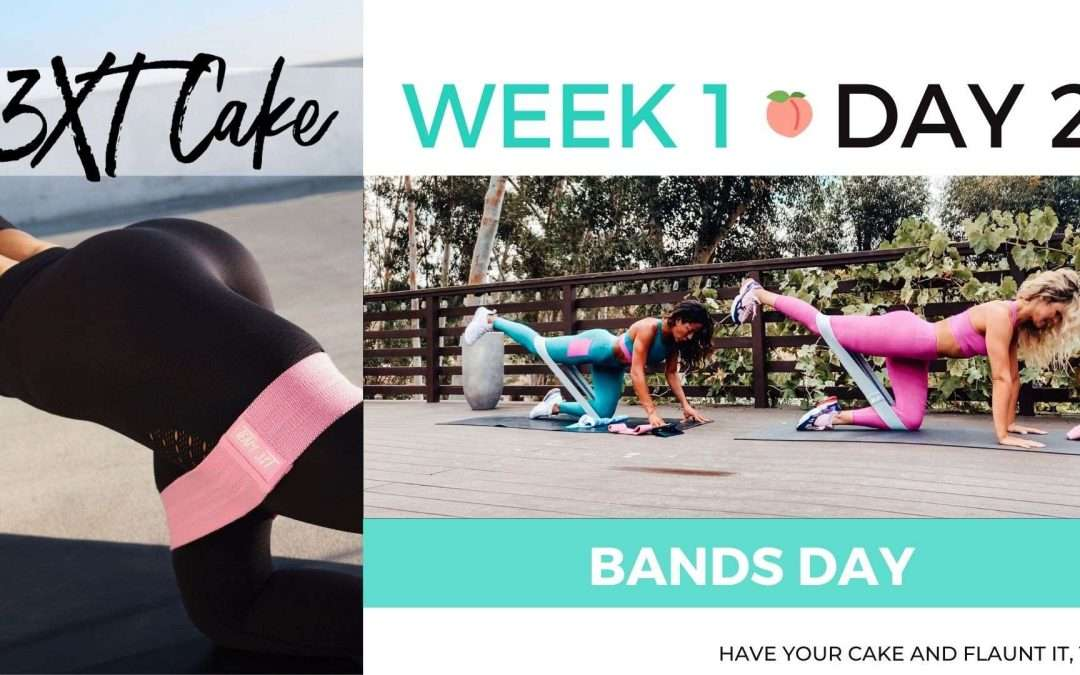 Week 1 Day 2 of 3XT CAKE: BANDS DAY