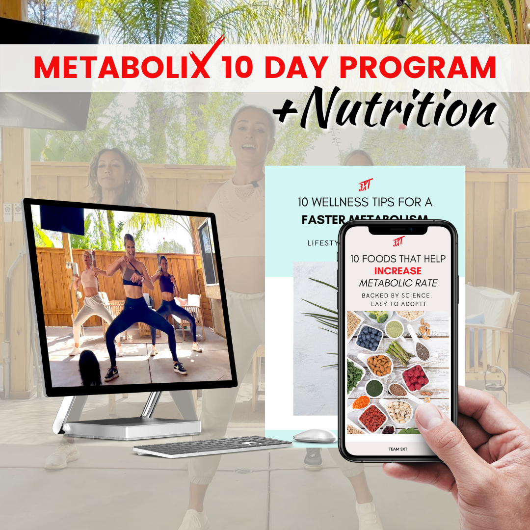 metabolix + nutrition metabolism boosting techniques