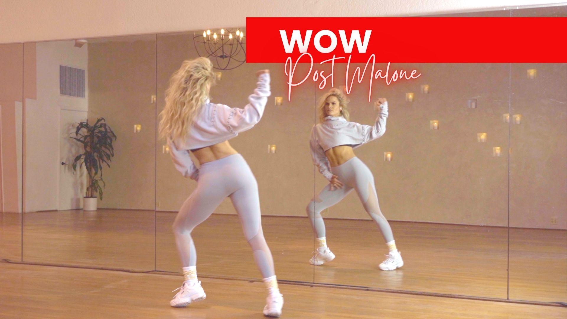 wow post malone dance routine