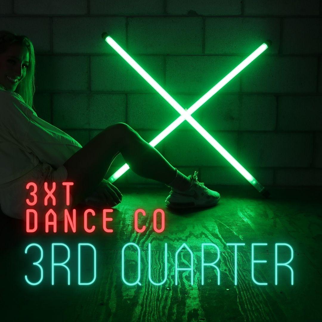 3xt dance company 3rd quarter