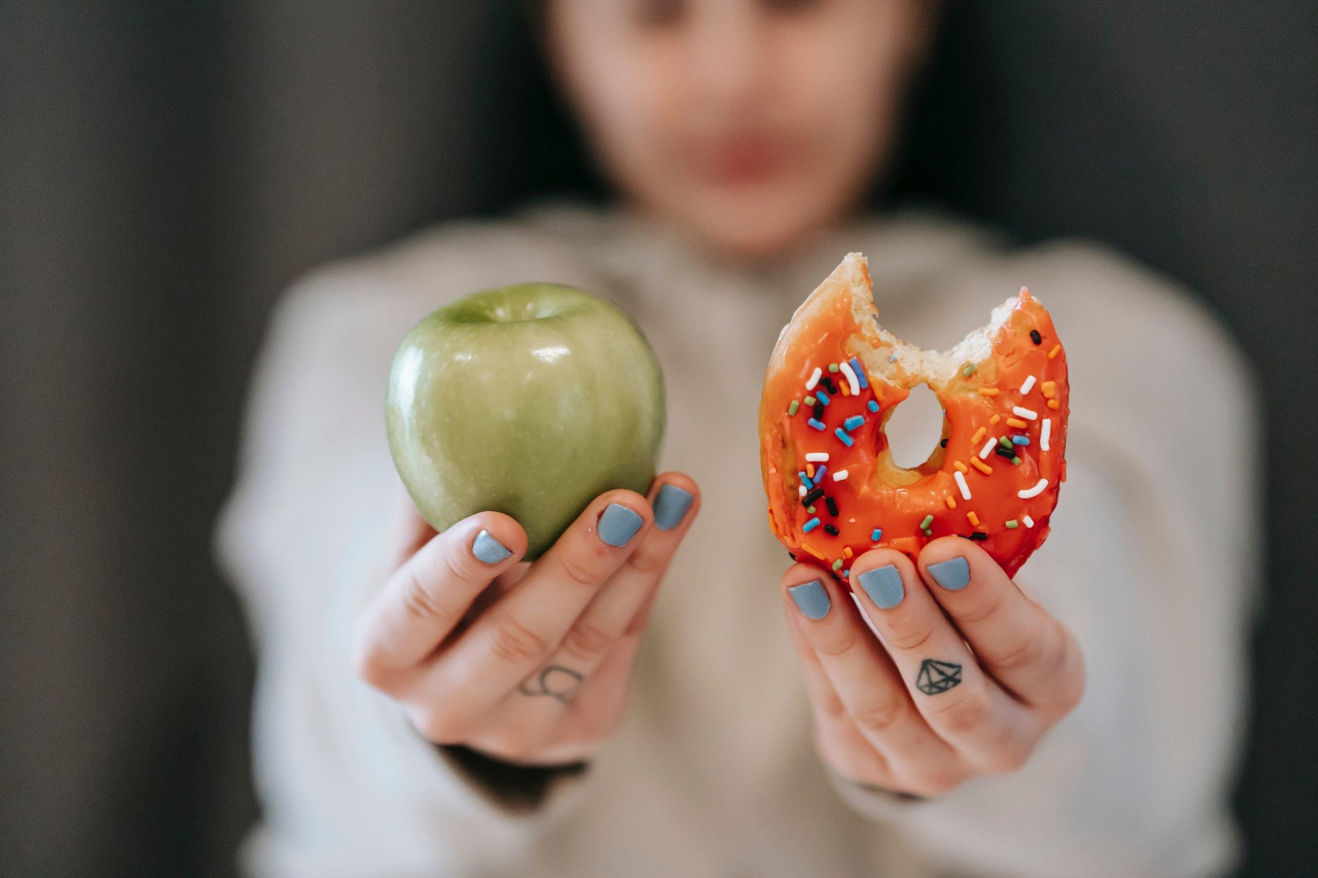 healthy vs unhealthy food 3 simple principles